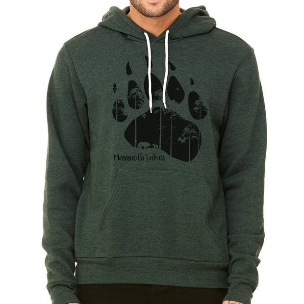 Mammoth Bear Paw Pullover Hoodie