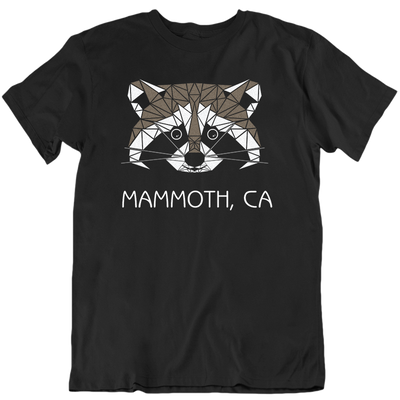 Mammoth Geo Raccoon T-Shirt