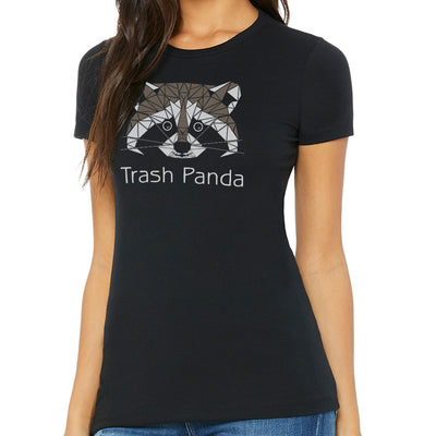 Trash Panda Ladies T-Shirt