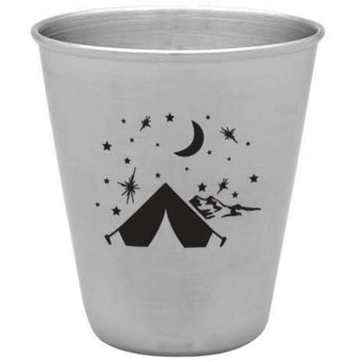 Yosemite Star Camping Stainless Steal Shot Glass