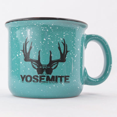 Yosemite Deerty Mug Teal