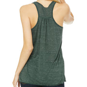 Earth Day Every Day Bear Paw Racer Back Tank Top