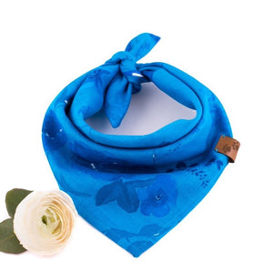 Blue Bandana - Puppylicious Boutique Dog Bandanas
