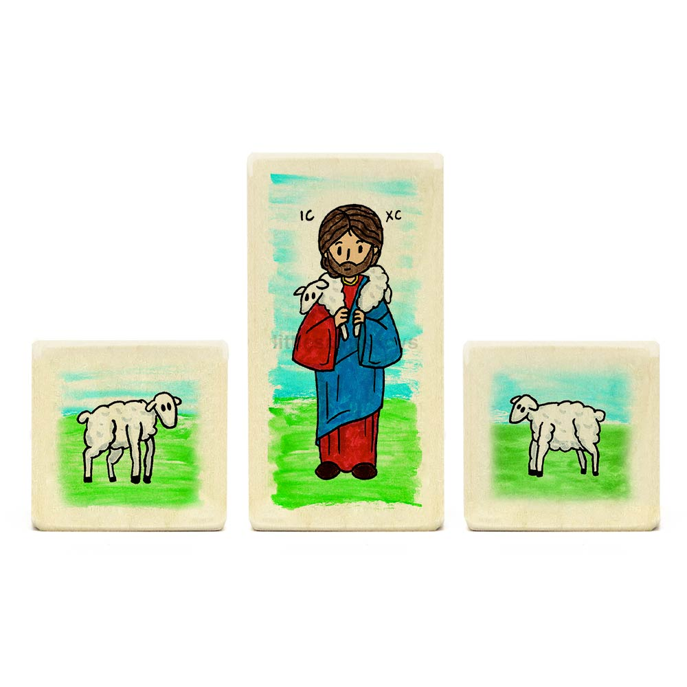 Jesus the Good Shepherd Playset