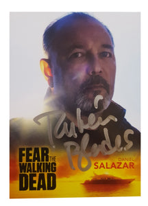 "Daniel Salazar ""Fear the Walking Dead"" Trading Card AUTOGRAPHED"
