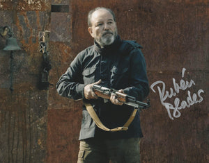 "Rubén Blades ""Fear The Walking Dead"" Gun Photo AUTOGRAPHED"