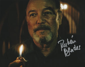 "Rubén Blades ""Fear The Walking Dead"" Flame #3 Photo AUTOGRAPHED"