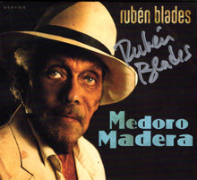 "Rubén Blades ""Medoro Madera"" Autographed CD"