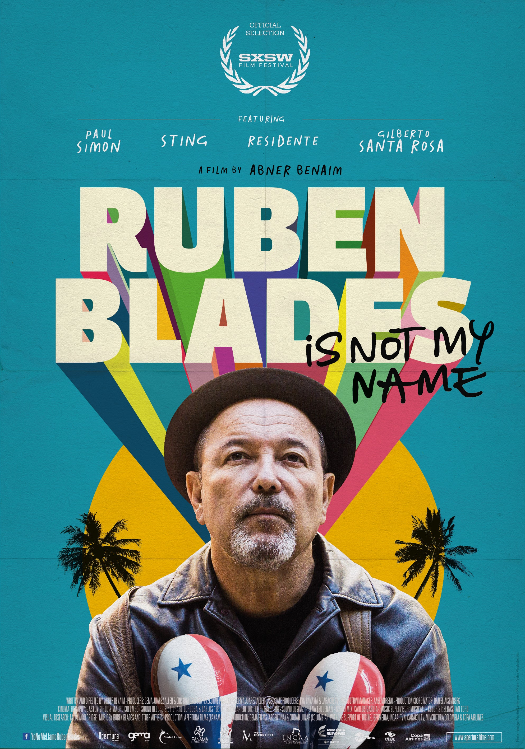 """Ruben Blades Is Not My Name"" DVD"