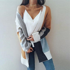 Long Sleeve Oversized Loose Knitted Sweater