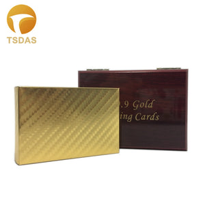 Golden Foil Plated Playing Cards