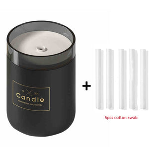 Ultrasonic Candle Romantic Soft Light