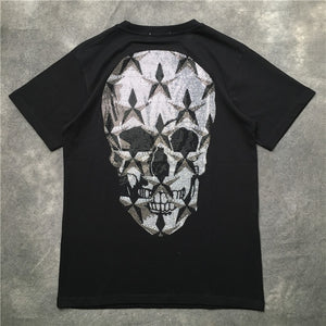 Diamond Skull Head T Shirts