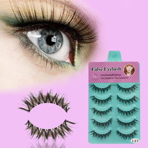 Crisscross Fake Eyelashes