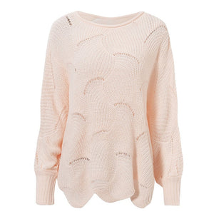 Hollow out sweater