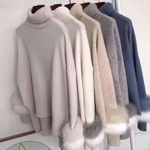 Loose Knitted Oversize Sweater