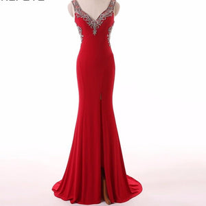 Long Mermaid Evening Dress