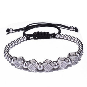 Crystal Rivets Charms Bracelets