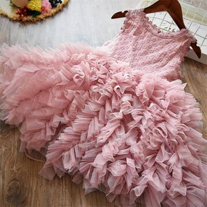 Girls Lace Flower Dress