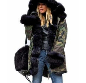 Hooded Overcoat Parkas