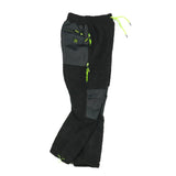 """RETROFUTURE"" sherpa pants black fluo"
