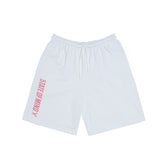 """BOX LOGO"" shorts white/p"