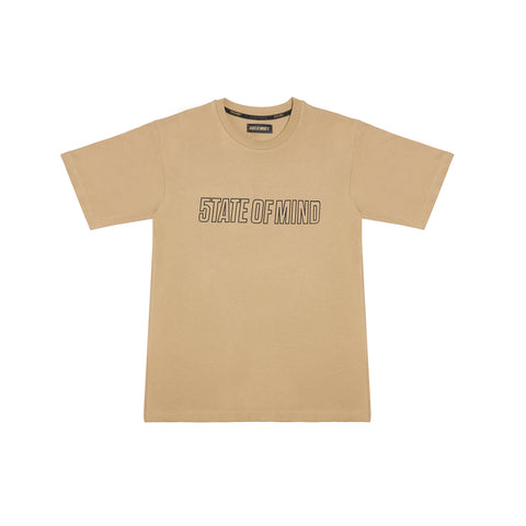 """SINCE THE STREETS"" beige t-shirt"
