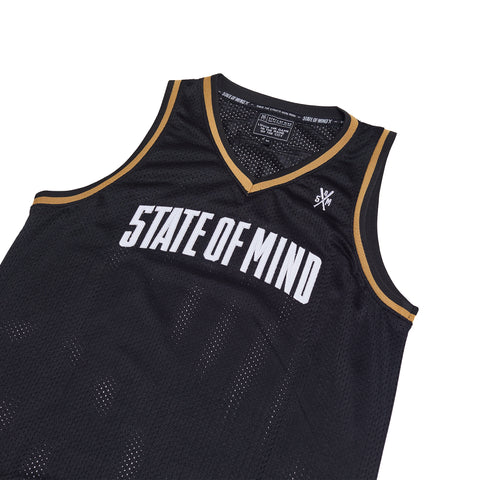 """CAMPUS"" black jersey basketball"