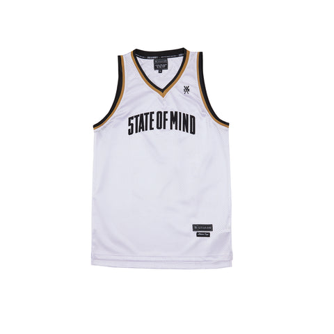 """CAMPUS"" white jersey basket"