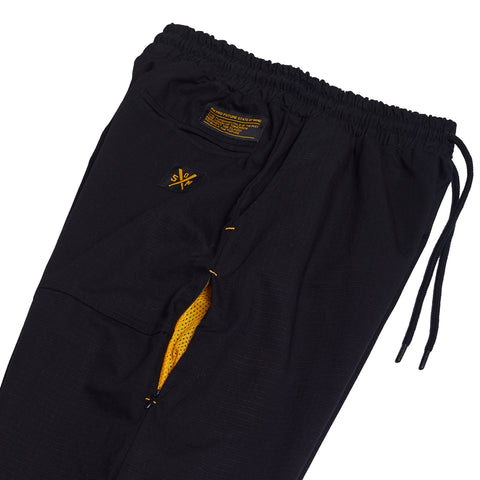"""RETROFUTURE"" ripstop joggers black"