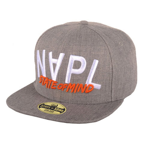 """Napl Mirror"" <br /> snapback heater grey"