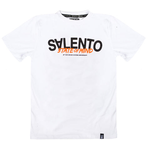 """Salento 25th SSS anniversary"" <br /> t-shirt white"
