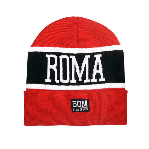 """Roma celebration"" <br /> beanie red"