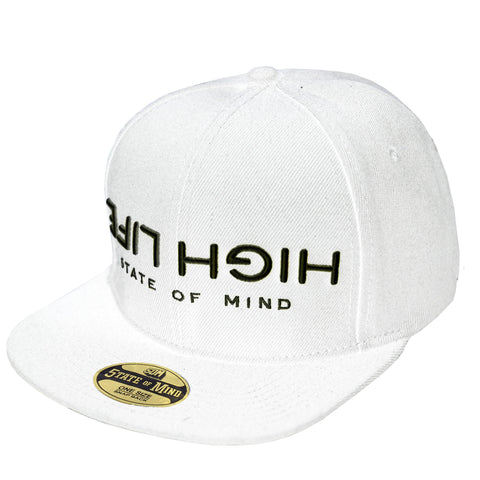 """HIGH LIFE"" <br /> snapback white"