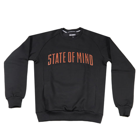 """ALLSTAR / CAMPUS"" Black sweatshirt"