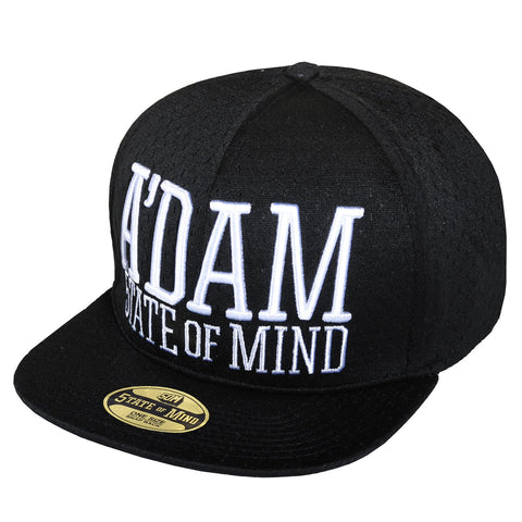 """Amsterdam celebration"" <br /> snapback black mesh"