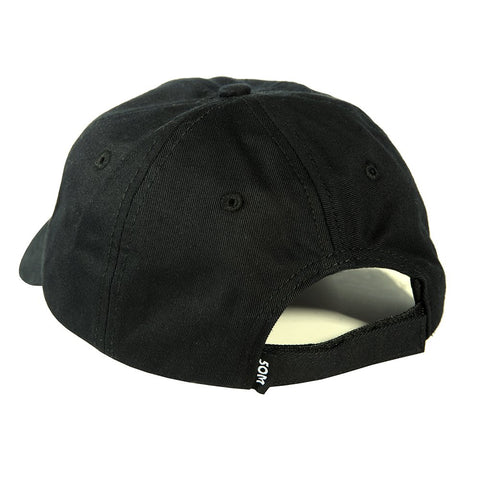 """COLD"" <br /> dad hat black"