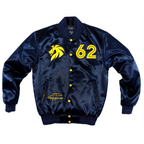 """ROCKERS"" bomber jacket b/y"