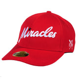 """MIRACLES"" curved visor hat"