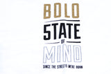 """BOLO CELEBRATION"" gold & reflective white sweatshirt"