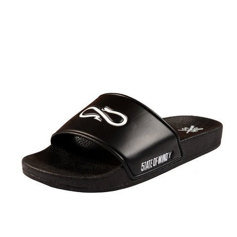 """5OM x PROPAGANDA"" slide-on sandals"