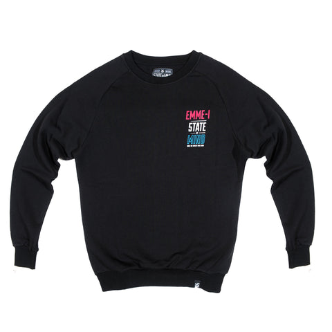 """EMME-I CELEBRATION"" <br /> black sweatshirt"