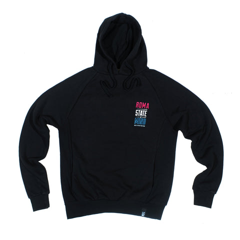 """ROMA CELEBRATION"" <br /> black hoodie"
