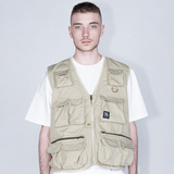"""RETROFUTURE"" Fisherman Vest sand ripstop"