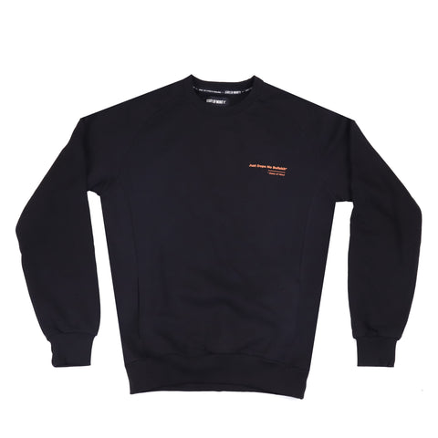 """JUST DOPE"" black/o sweatshirt"