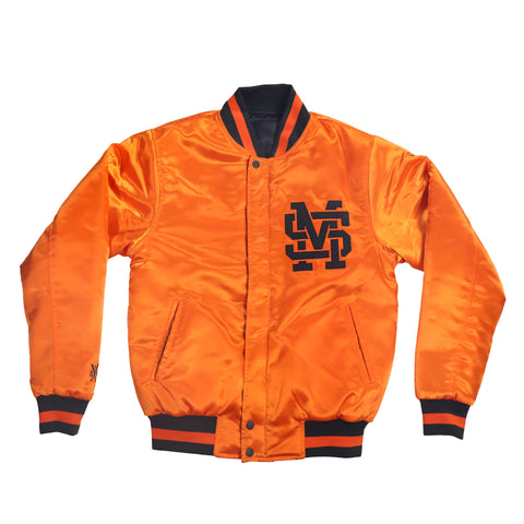 """5OM INTL TEAM"" Double face bomber orange/black"