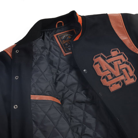 """ALL STAR / MONOGRAM"" Wool Varsity Jacket"