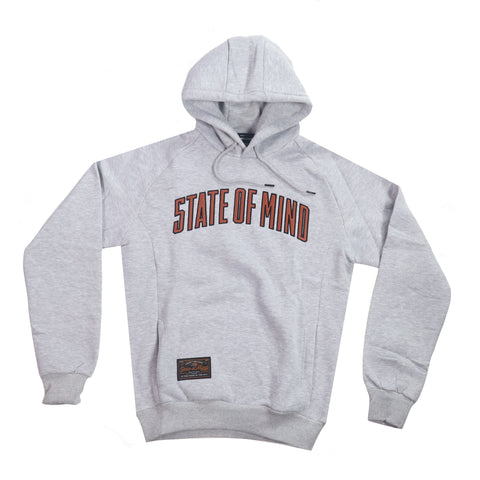 """ALL STAR / CAMPUS"" Sport Grey hoodie"
