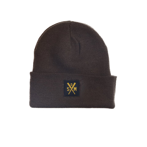 """RETROFUTURE"" beanie brown"