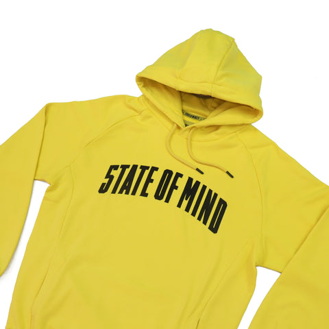 """CAMPUS"" Hoodie yellow"